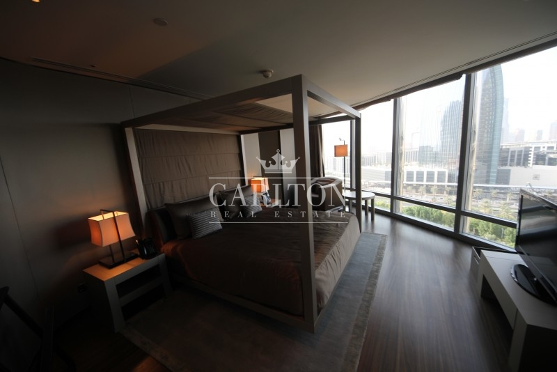 Bedroom Apartment For Sale In Downtown Burj Dubai Armani Residence - Armani bedroom design